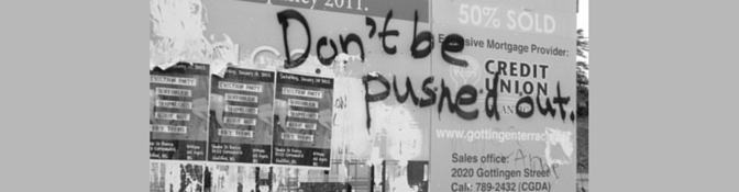 Don't be pushed out