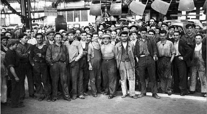 Grèves 1936