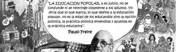 Paulo Freire et l'éducation populaire