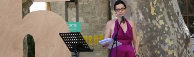 Carole Thibault à Avignon : pleurer de rage face à la domination masculine