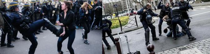 Le traitement médiatique du mouvement social : Casseurs et prises d'otage