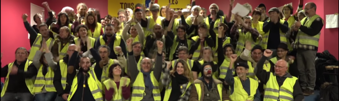 Le chant des partisans version Gilets Jaunes