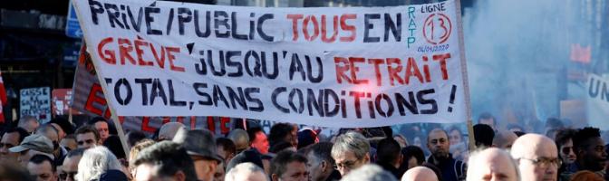 La grève en France: «Pessimisme de l'intelligence, optimisme de la volonté»